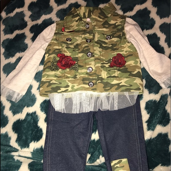Little Lass Other - Baby Girl 12 month outfit